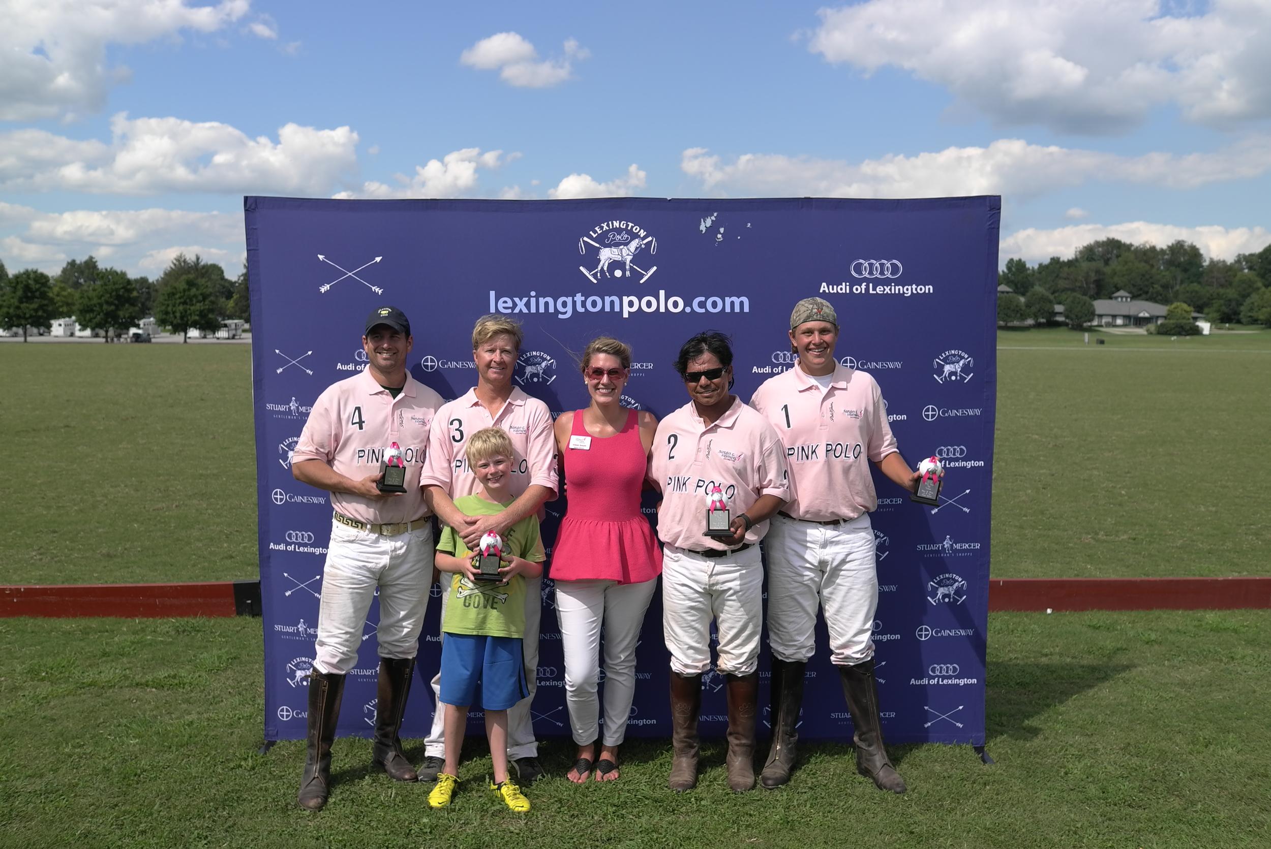 Winners - Susan G. Komen Team