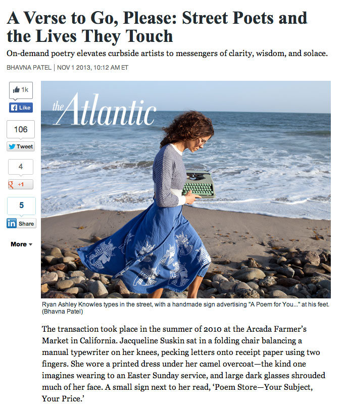 New write-up in The Atlantic by Bhavna Patel. Check it out!