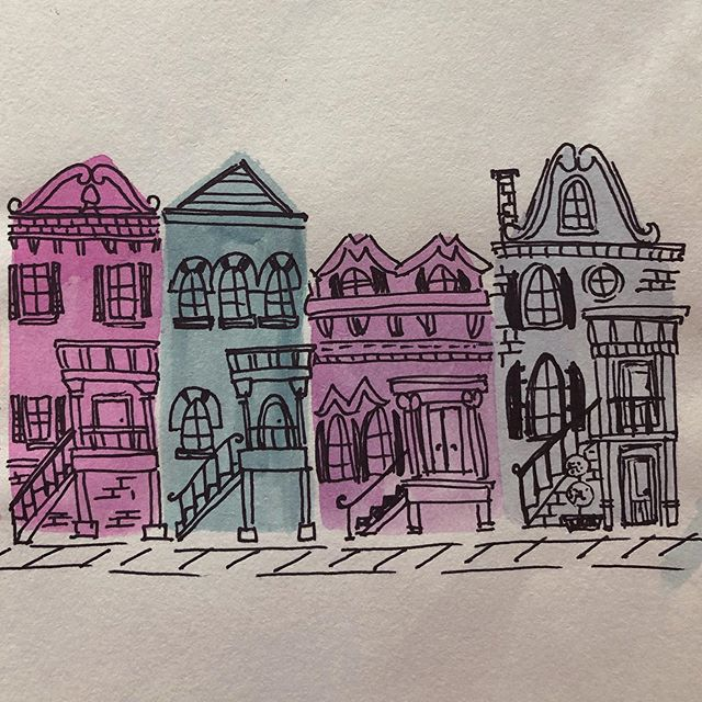 Itty bitty imaginary houses