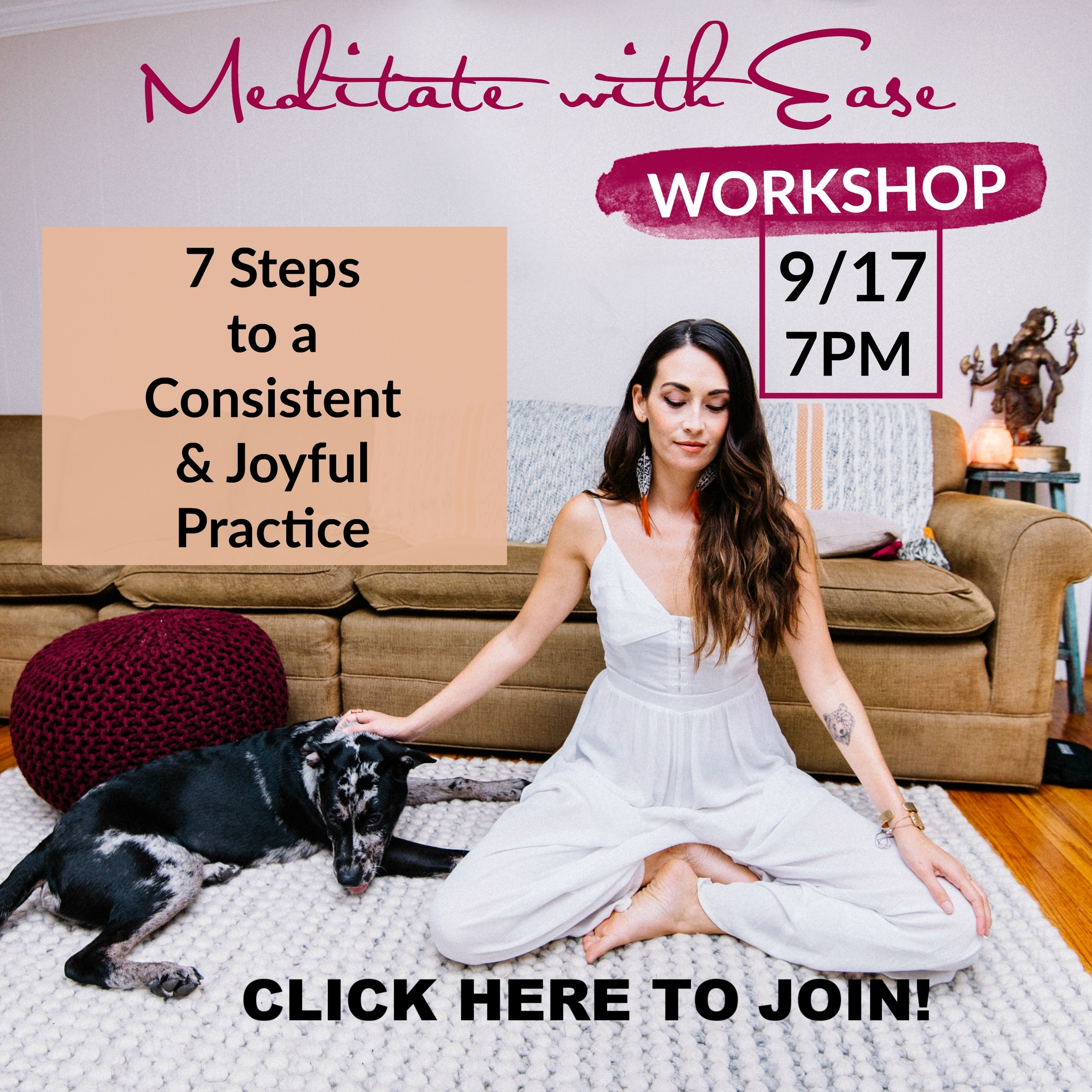 CLICK HERE TO JOIN THE LIVE WORKSHOP!