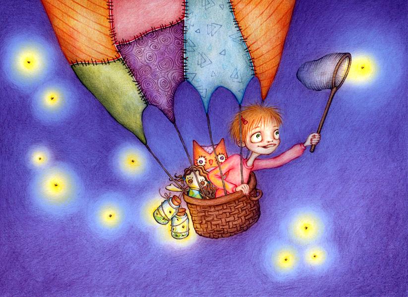 dreaming of fireflies
