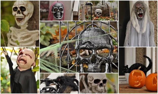 Halloween decorations - Sandra Harris