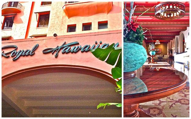 Royal Hawaiian Hotel, Honolulu, Oahu, Hawaii