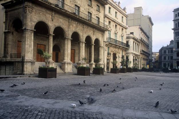 havana cuba old city square