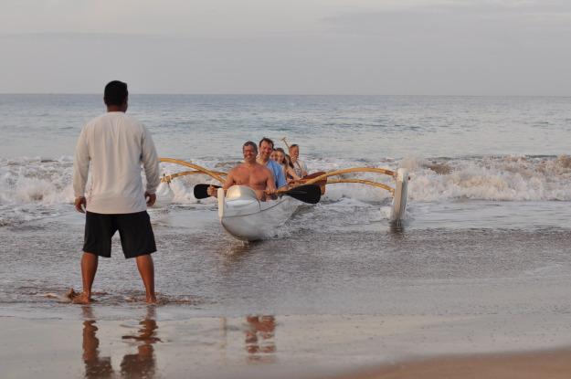 Maui outrigger canoe Hawaii