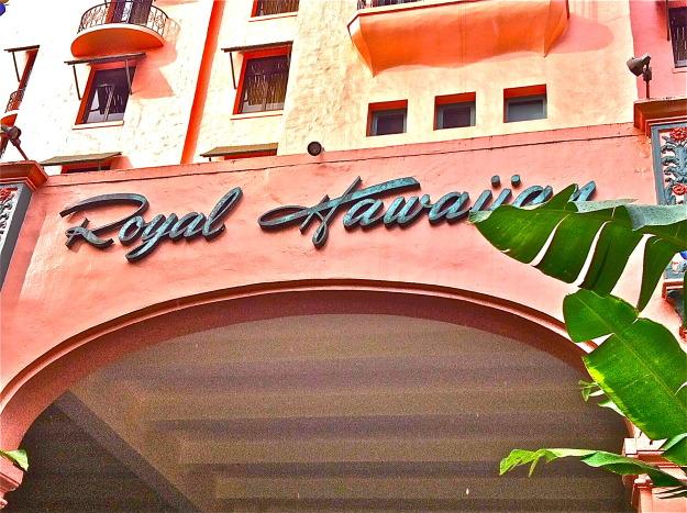 Royal Hawaiian Hotel, Honolulu, Oahu - Sandra Harris
