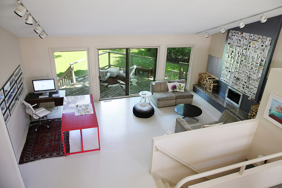 Mary Jo Hoffman - Still Blog - living room