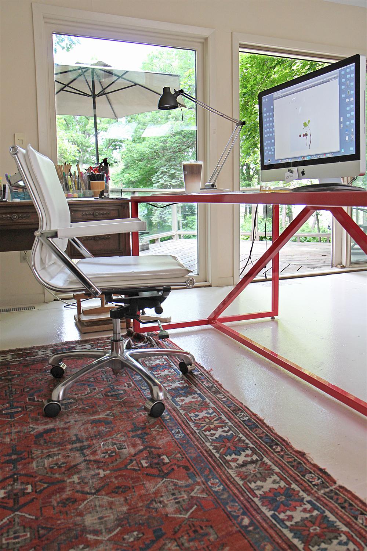 office/studio space - Mary Jo Hoffman, Still Blog