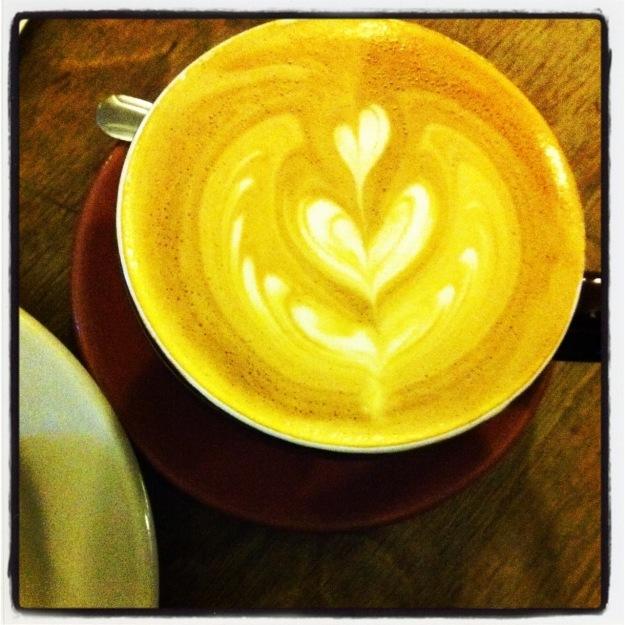 New York City Cafe Grumpy latte - Sandra Harris