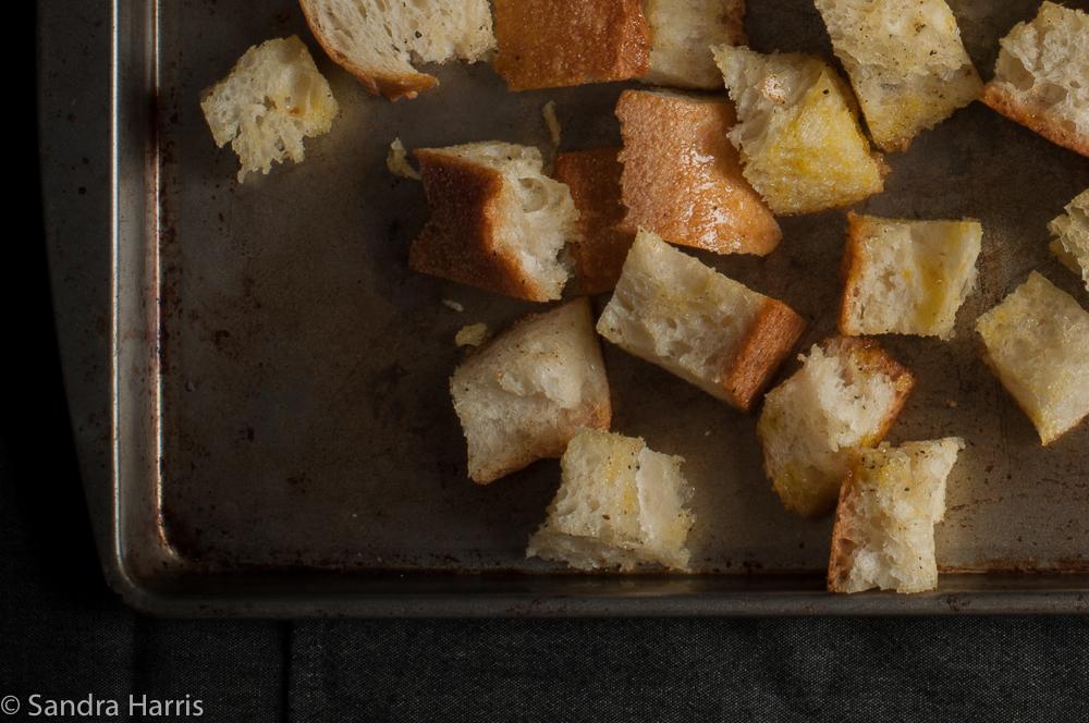 panzanella salad food photography - Sandra Harris