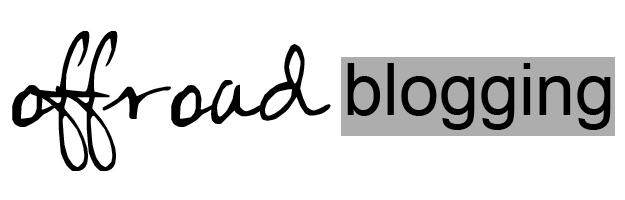 offroad blogging