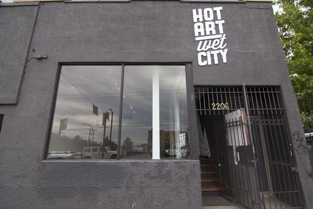 Hot Art Wet City Vancouver