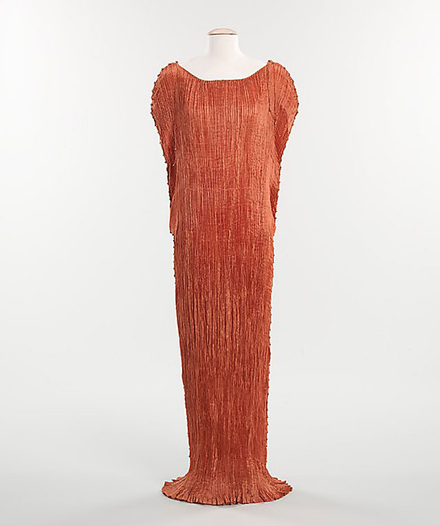 """""""Delphos"""" gown, by Mariano Fortuny, c. 1930. Metropolitan Museum of Art"""