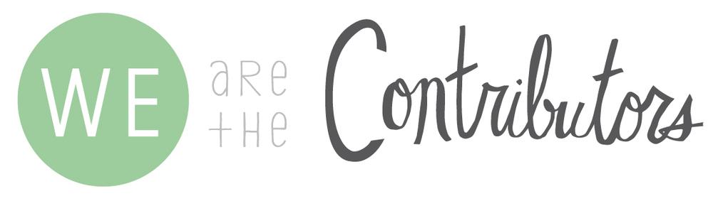 we are the contributors creativity creative process collaboration