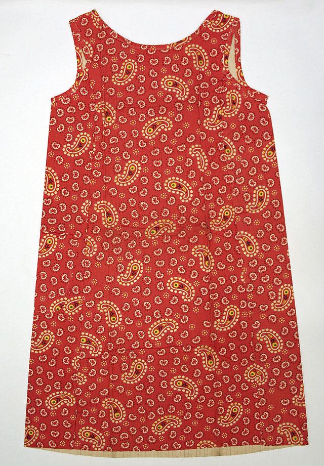 paisley dress by Scott Paper Company, 1966. source Metropolitan Museum of Art