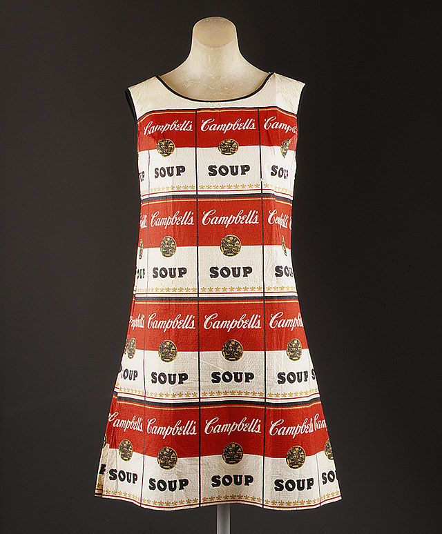 """Souper Dress,"" 1966-67. source Metropolitan Museum of Art"