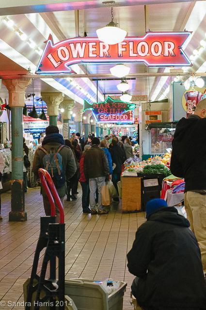Pike Place Market, Seattle - Sandra Harris