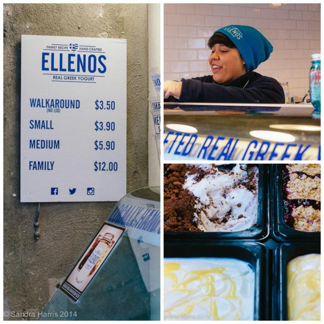 Pike Place Market, Ellenos Greek Yoghurt, Seattle - Sandra Harris