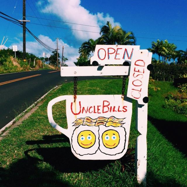 Uncle Bills food truck Hana, Maui, Hawaii