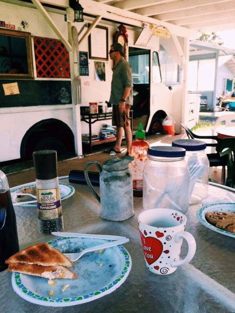 Uncle Bill's food truck Hana, Maui, Hawaii