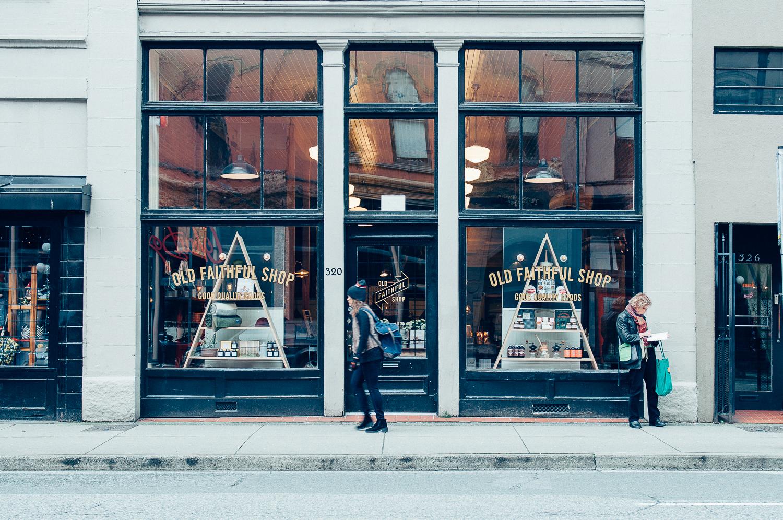 The Old Faithful Shop - Vancouver, Canada - Sandra Harris