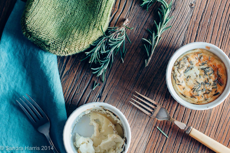 potato rosemary quiche - Sandra Harris