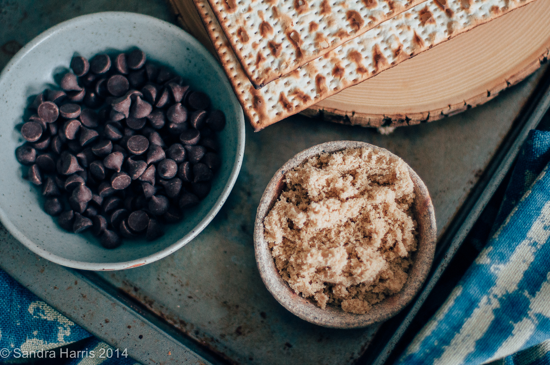 toffee chocolate matzoh crunch - Sandra Harris