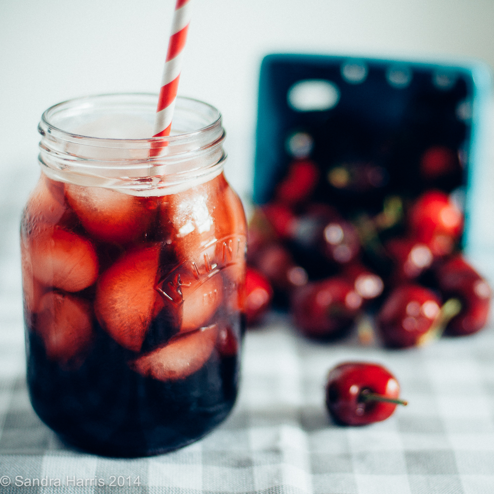 cherry balsamic shrub recipe -  Sandra Harris