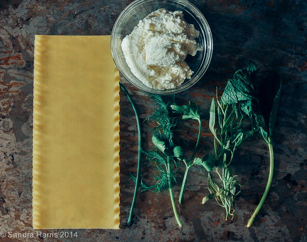 lasagne ingredients - Sandra Harris
