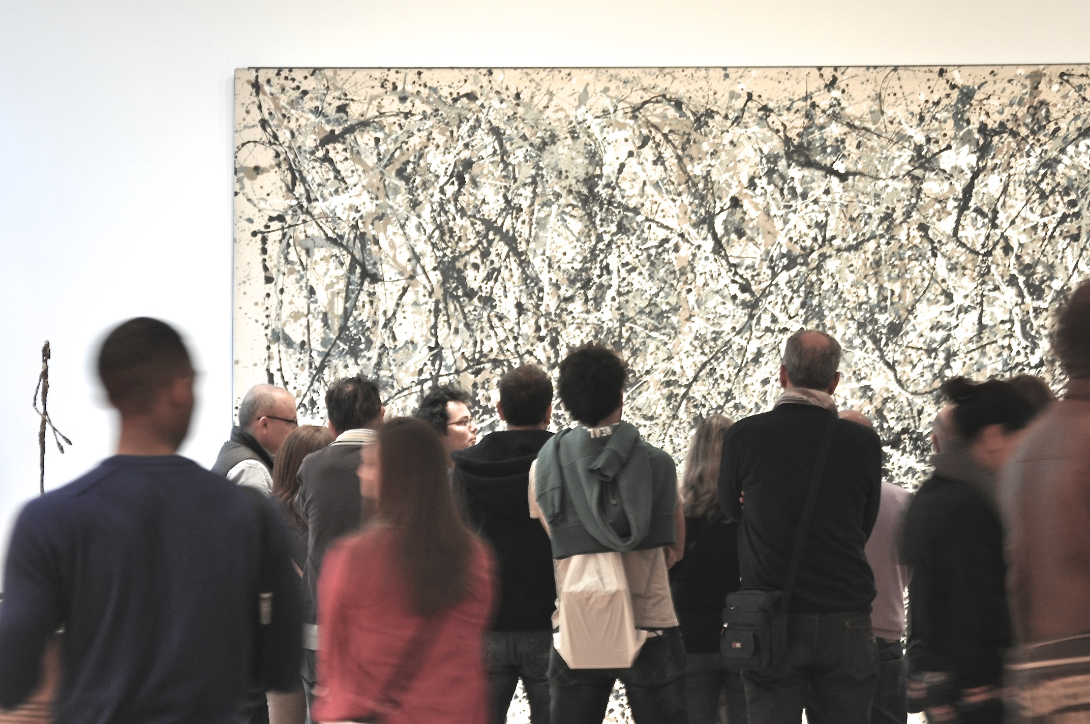 Number 1A, 1948 Jackson Pollock, MOMA - Sandra Harris.Interested in it's recent restoration?  Read and see over here .