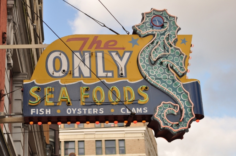 The Only Seafoods Vancouver 2012