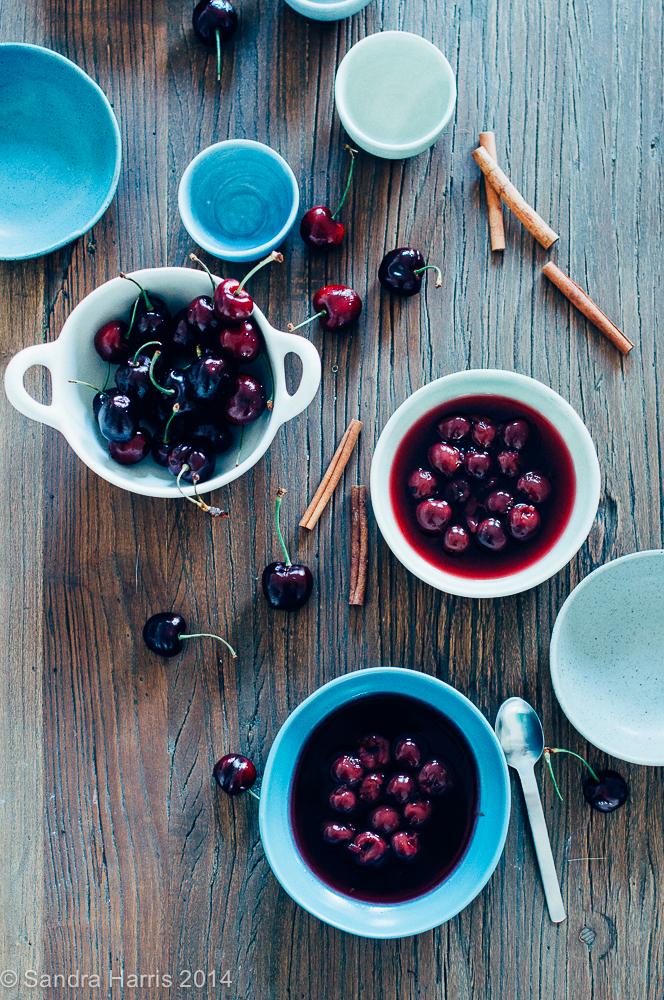 Summer Cold Cherry Soup - Sandra Harris