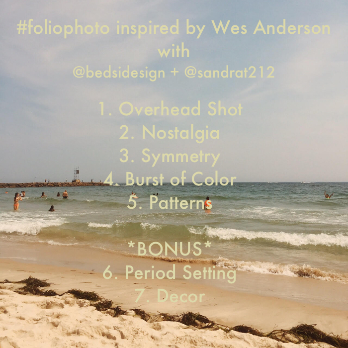 Wes Anderson Foliophoto Instagram Project