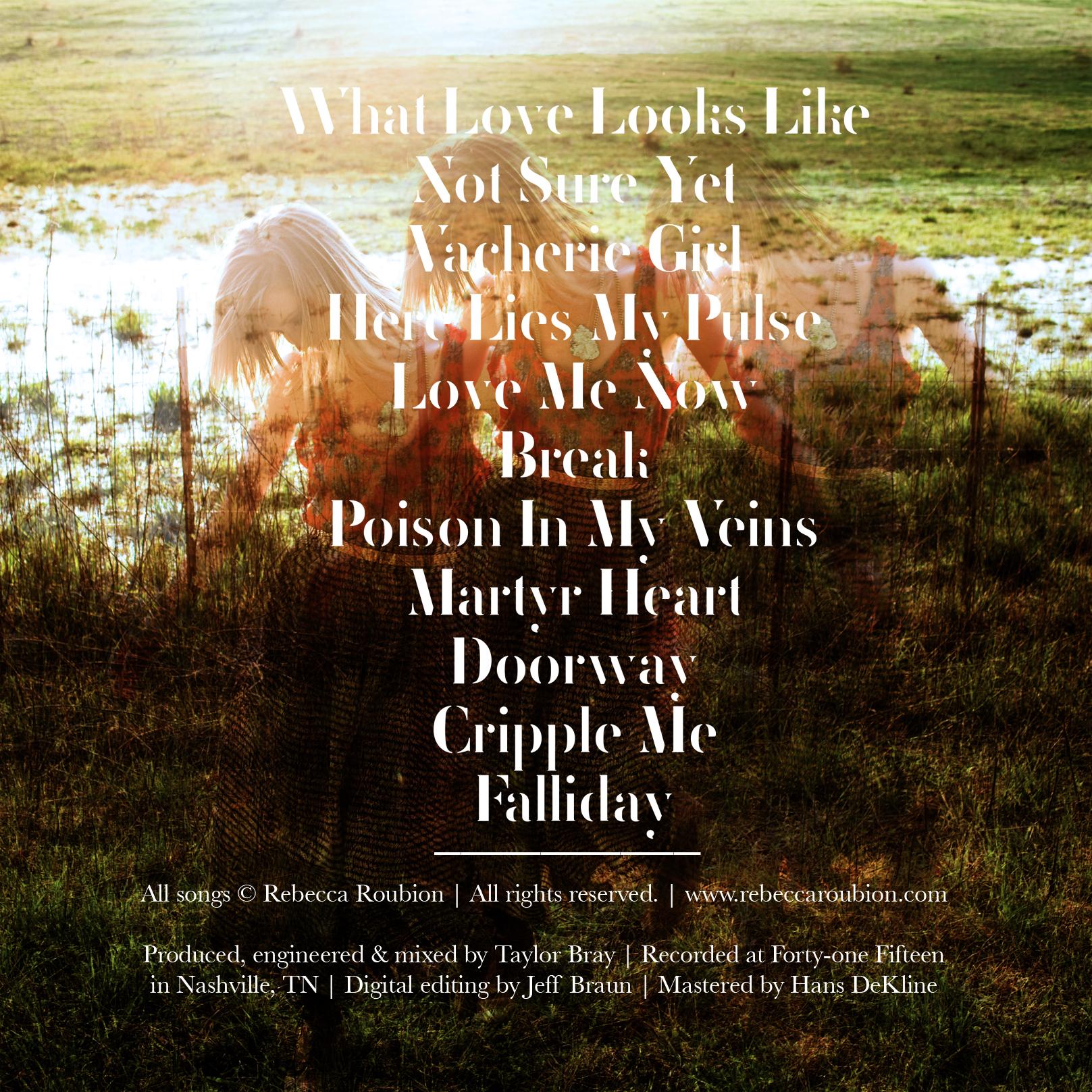 Beautiful Album Art by  Mikaela Hamilton