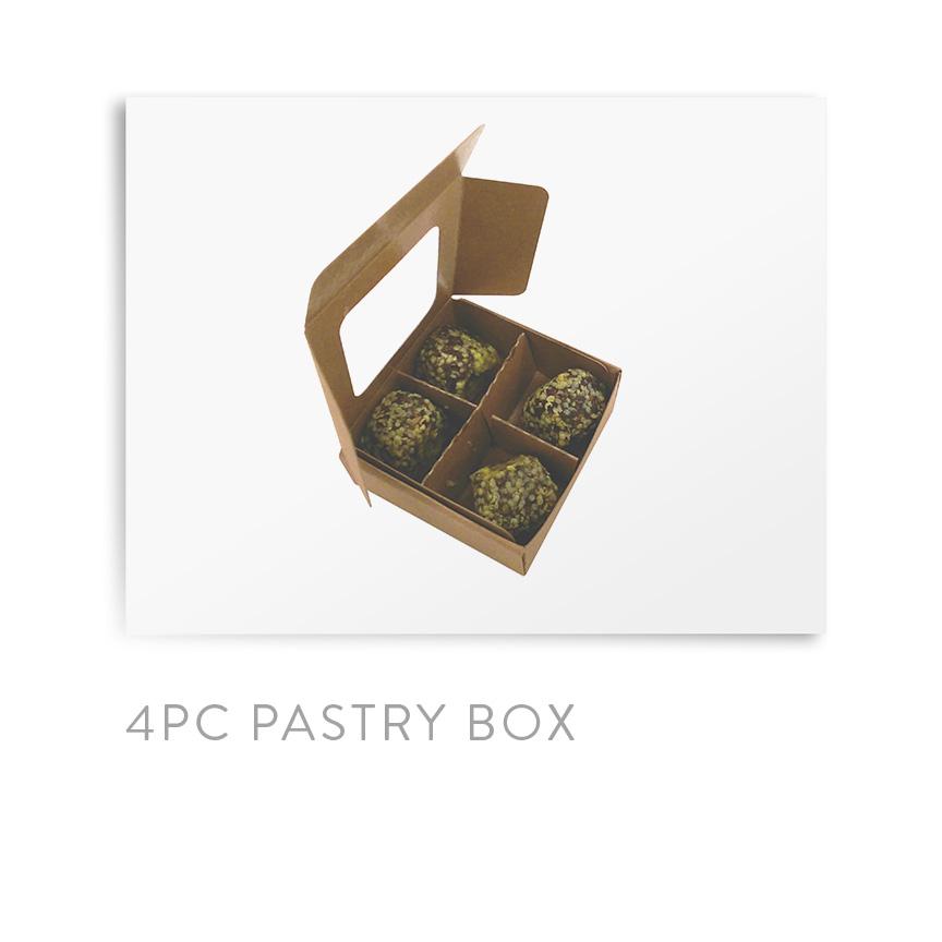 4PC PASTRY BOX