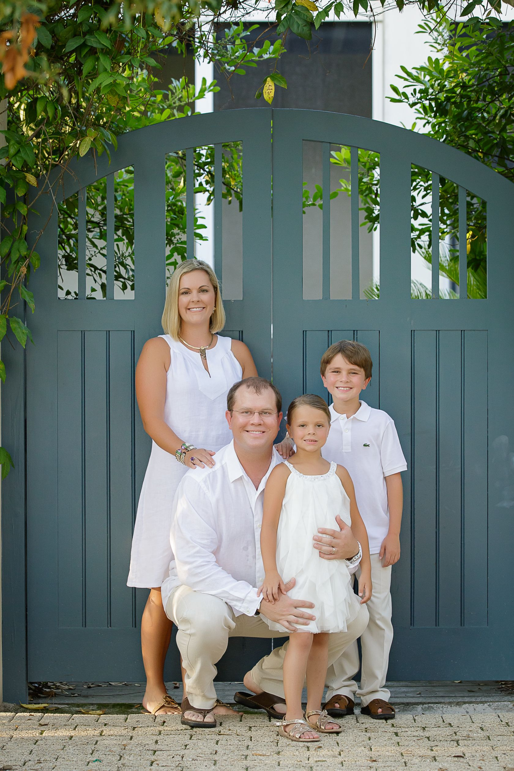 Klein Family vacation to Rosemary Beach, FL.