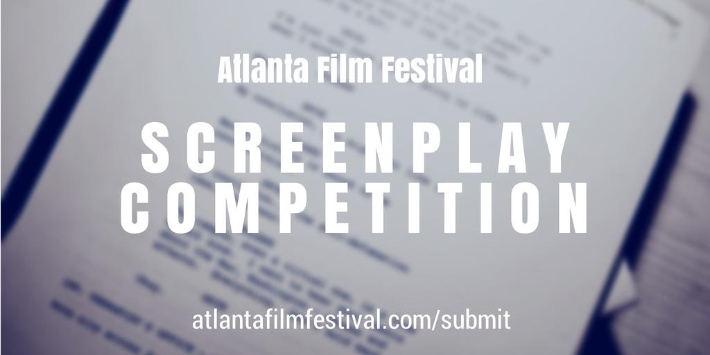 2015 Atlanta Film Festival screenplay competition