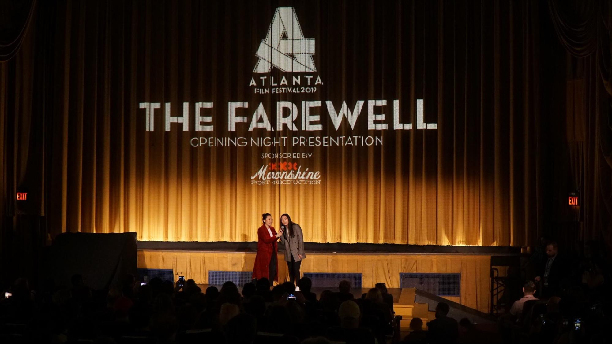 Wang and Awkwafina introduce The Farewell.