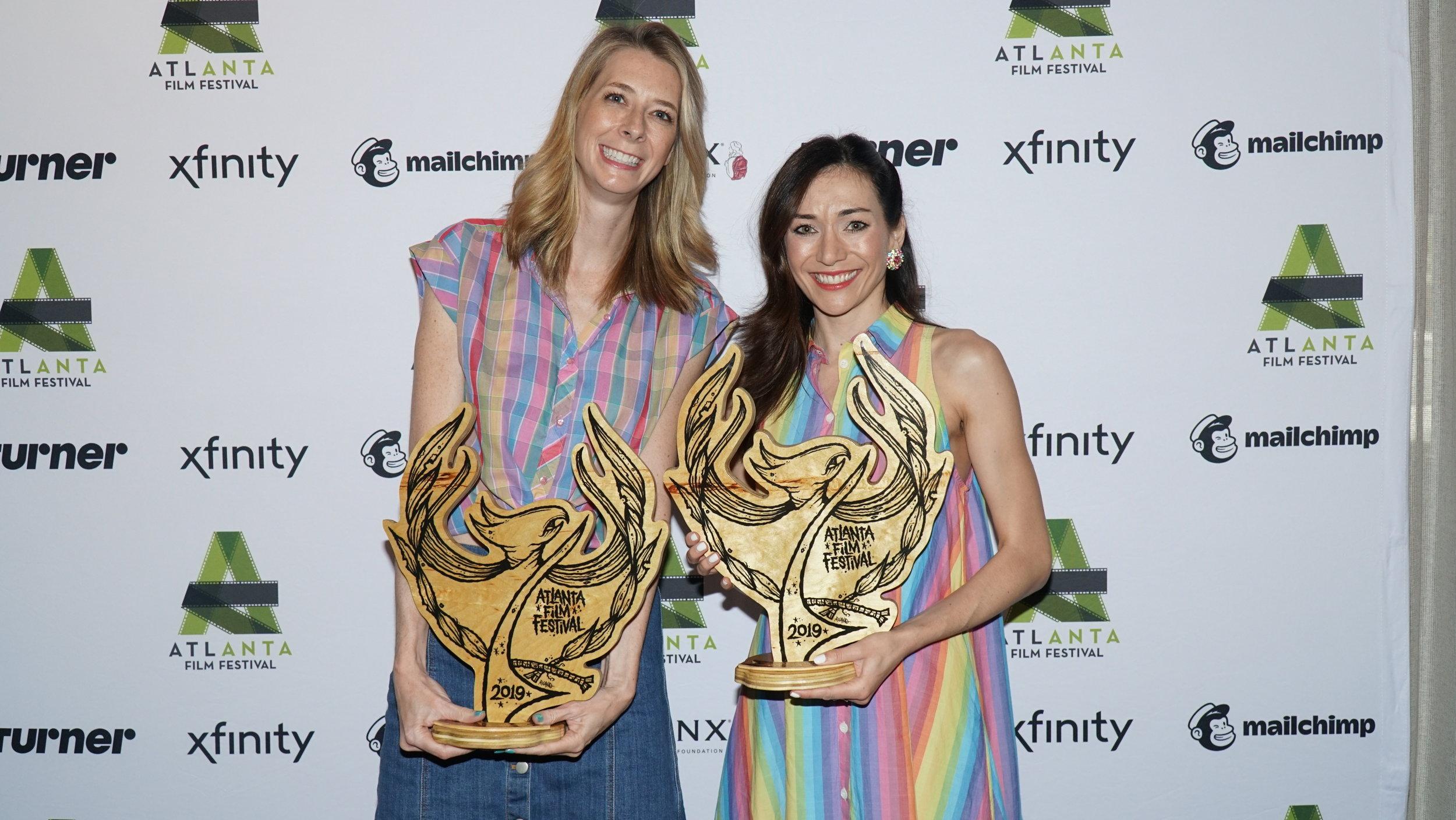 Jocelyn DeBoer and Dawn Luebbe snatch Best Narrative Feature.