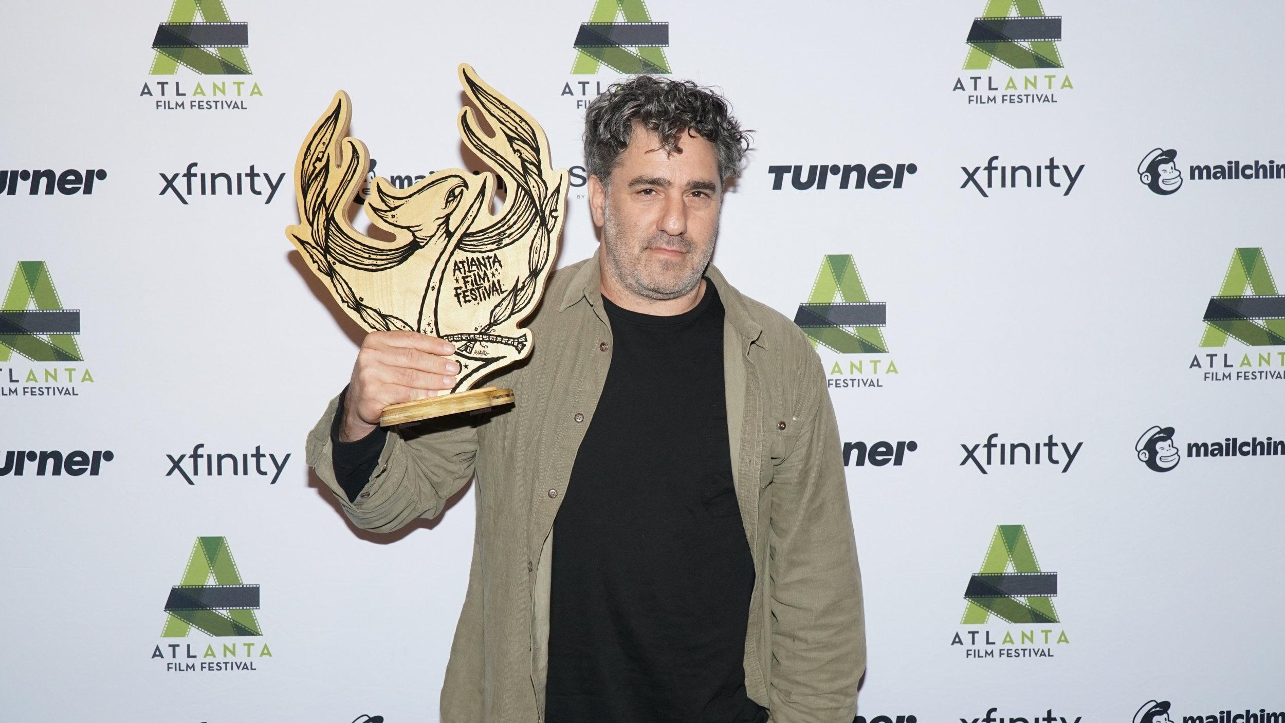 Tomer Heymann takes home Special Jury Award.