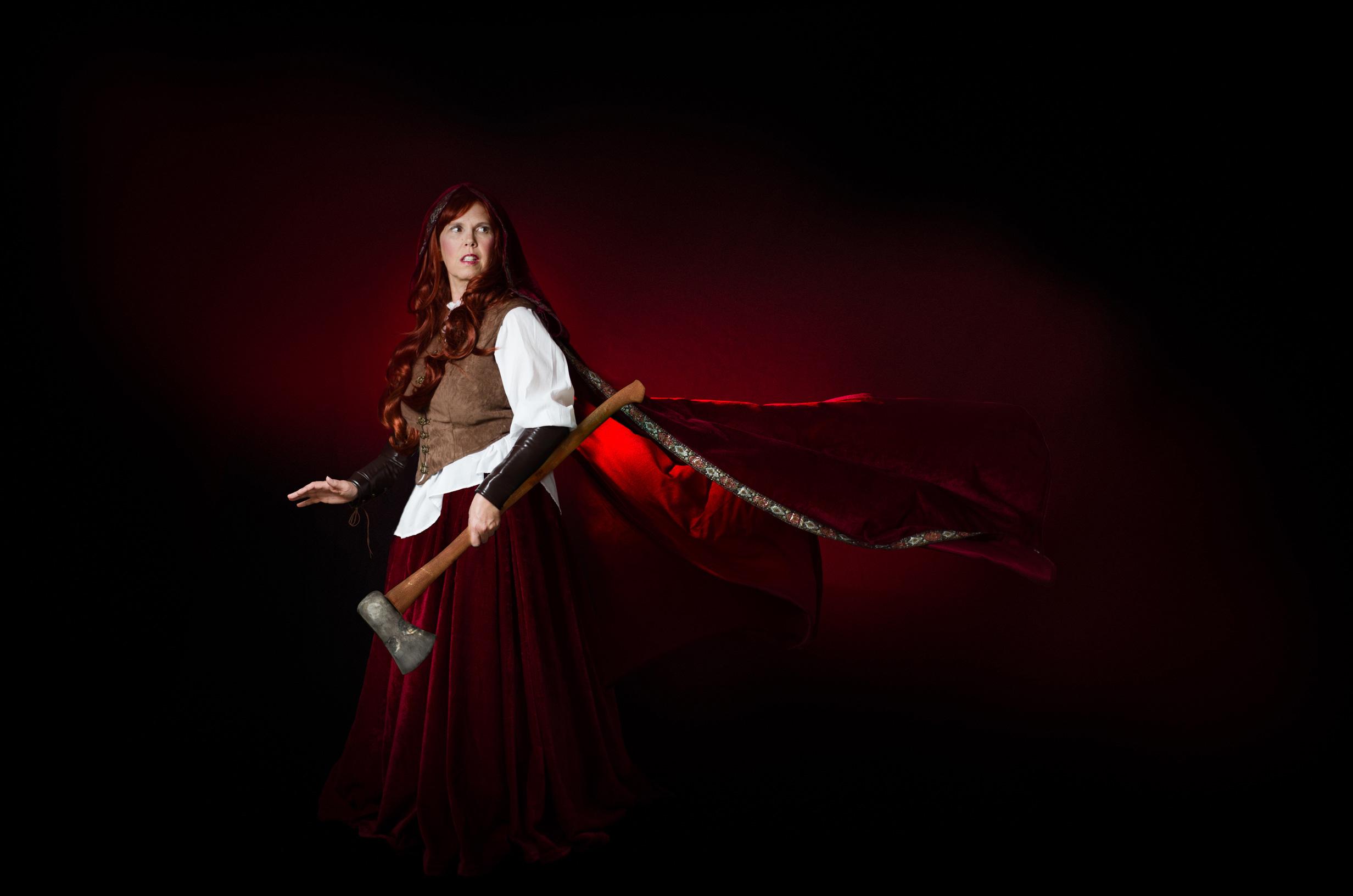 Red Riding Hood - Halloween Portrait 2017