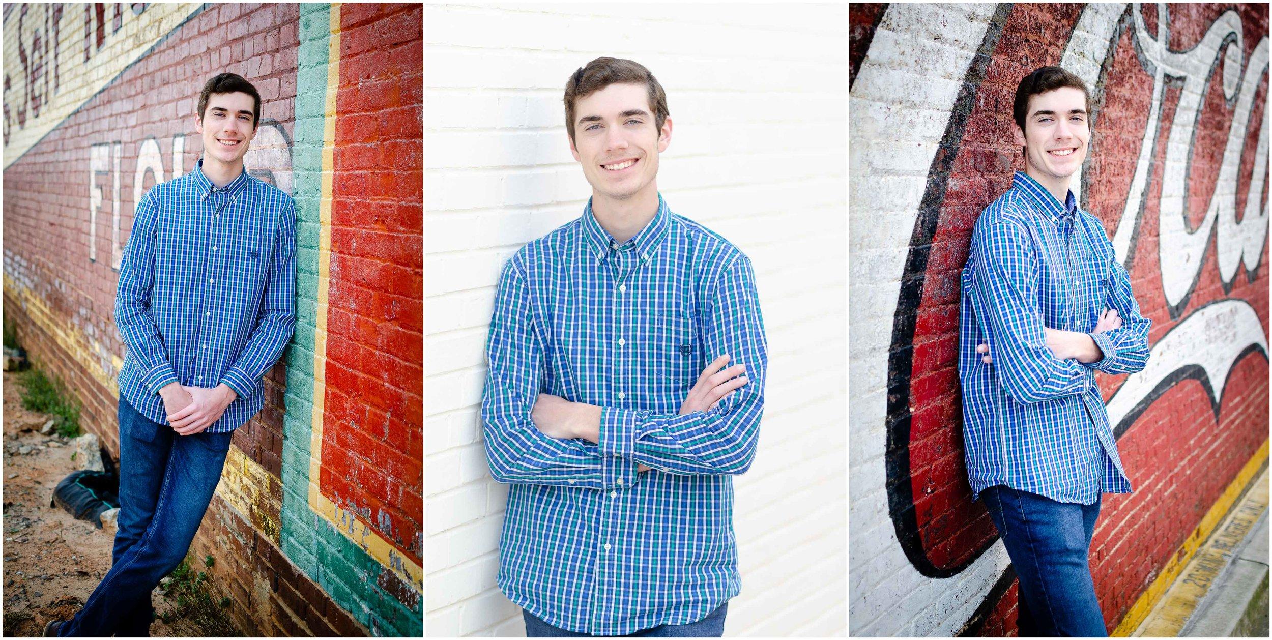 Brian's Senior Photos in Downtown Acworth.
