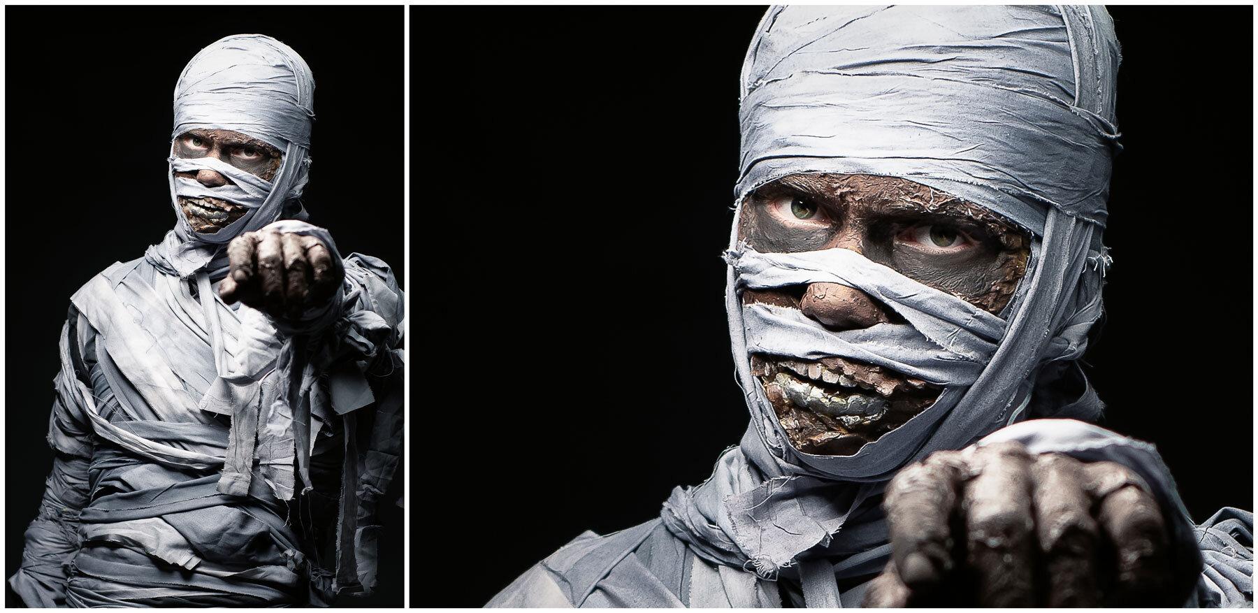 Tyler as the Mummy