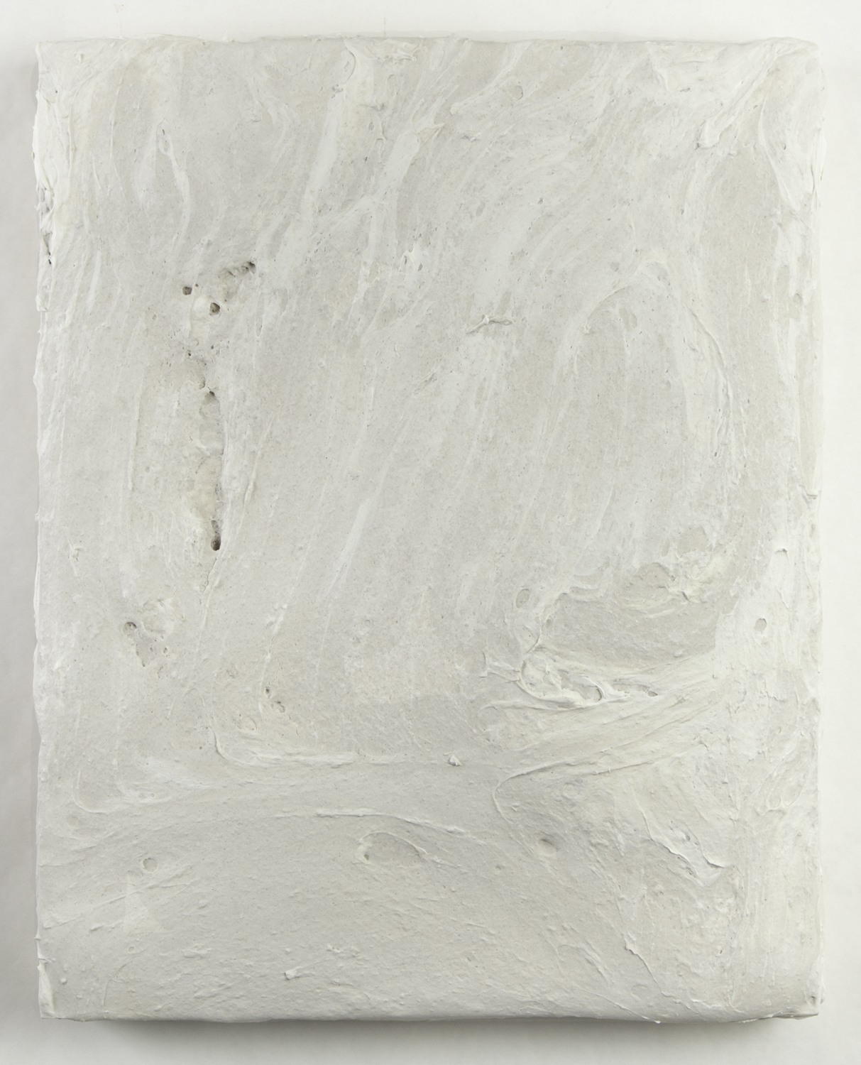 marble dust  2011 mixed media on wood 20 X 16 X 2.75 inches