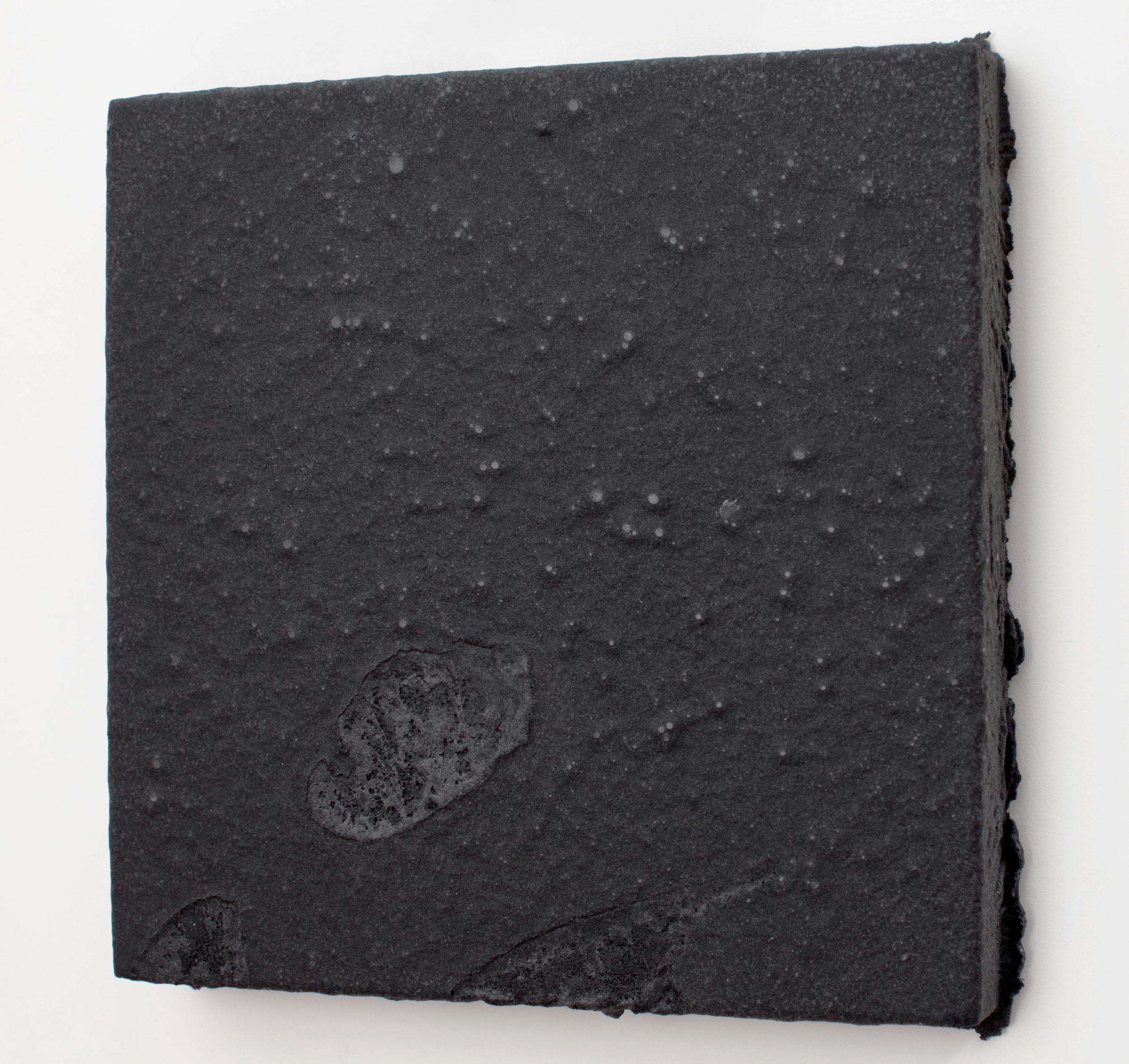 sugar2 2014 sugar, graphite, acrylic on wood  12 x 12 x 0.75 inches