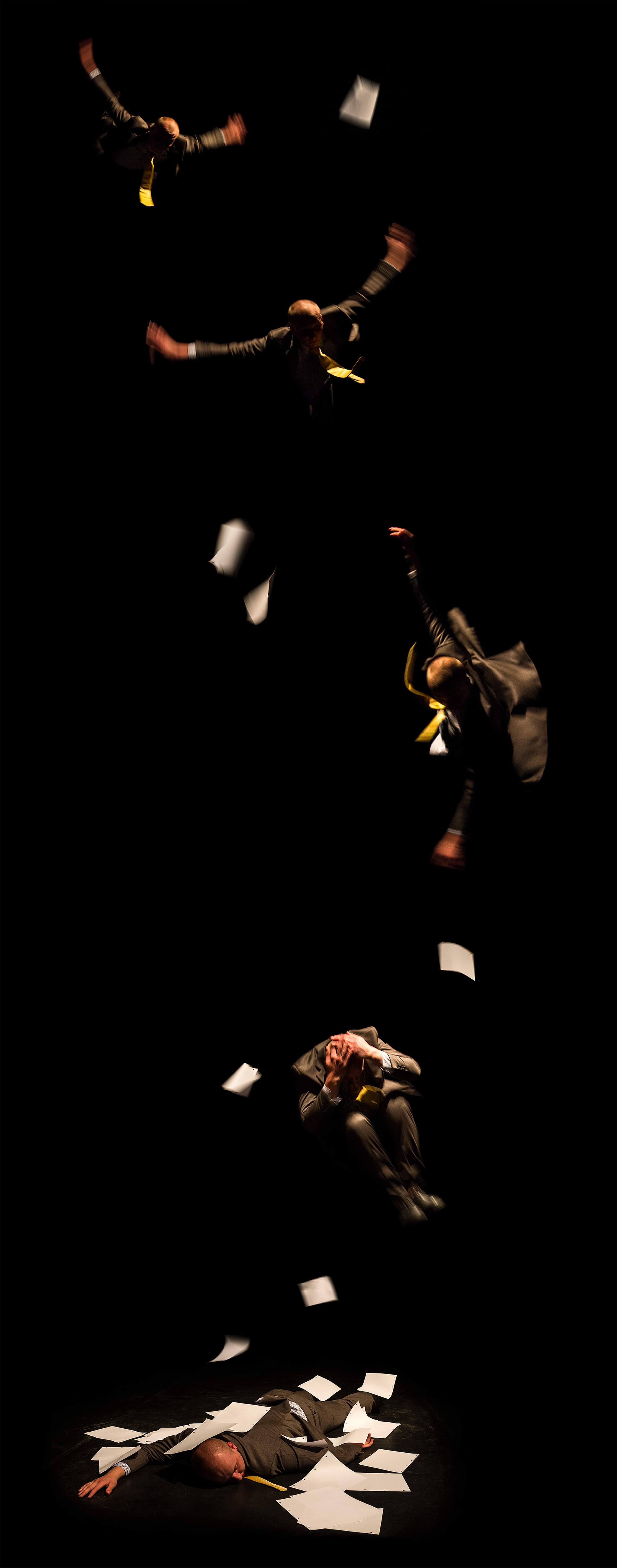 """Little Man Saga""   Created by Jacek Ludwig Scarso   In co-production with Elastic Theatre   Photography: Gerard Puigmal Performer: Liam Croucher Copyright: Jacek Ludwig Scarso & Elastic Theatre 2015"