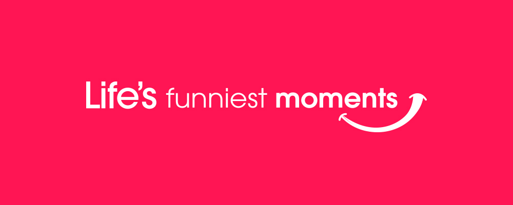 Life's Funniest Moments logo lockup