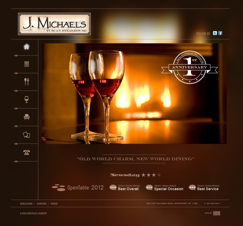J. Michaels website details
