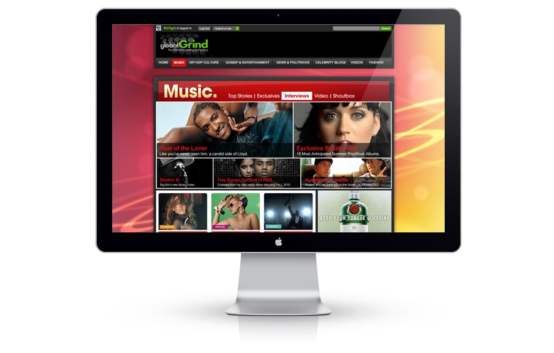 Global Grind website