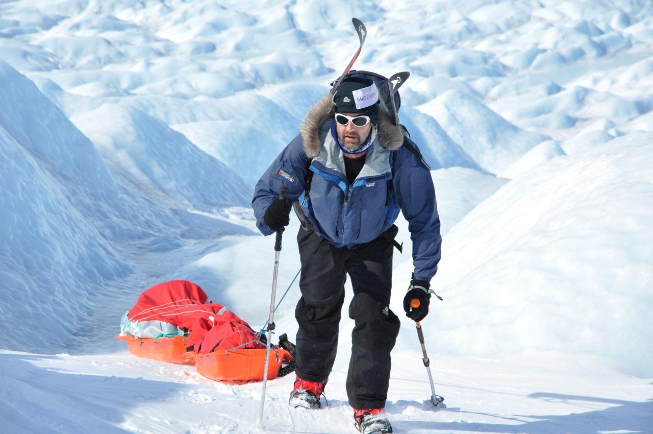 Greenland crossing -